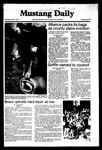 Mustang Daily, October 1, 1981