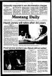 Mustang Daily, October 14, 1981