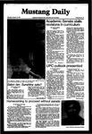 Mustang Daily, October 15, 1981