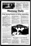 Mustang Daily, October 16, 1981