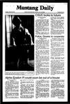 Mustang Daily, October 20, 1981