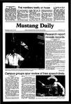 Mustang Daily, October 21, 1981