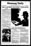 Mustang Daily, October 23, 1981