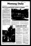Mustang Daily, October 29, 1981