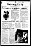 Mustang Daily, October 30, 1981