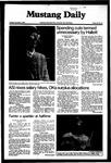 Mustang Daily, November 3, 1981