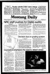 Mustang Daily, November 4, 1981