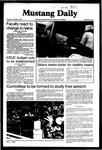 Mustang Daily, November 5, 1981