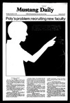 Mustang Daily, November 12, 1981