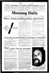 Mustang Daily, November 13, 1981