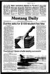 Mustang Daily, November 17, 1981