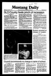 Mustang Daily, November 18, 1981
