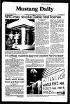 Mustang Daily, November 19, 1981