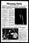 Mustang Daily, November 24, 1981