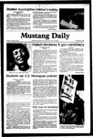 Mustang Daily, December 4, 1981