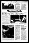Mustang Daily, January 6, 1982