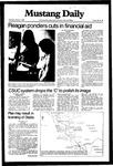 Mustang Daily, January 7, 1982