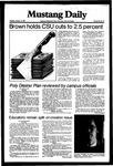 Mustang Daily, January 12, 1982