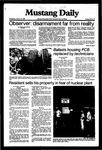 Mustang Daily, January 13, 1982