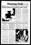 Mustang Daily, January 15, 1982