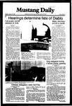 Mustang Daily, January 19, 1982