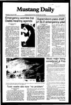 Mustang Daily, January 20, 1982