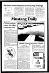 Mustang Daily, January 22, 1982