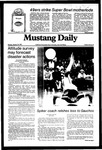 Mustang Daily, January 25, 1982