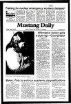 Mustang Daily, January 26, 1982