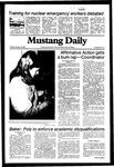 Mustang Daily, January 26, 1982