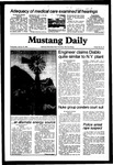 Mustang Daily, January 27, 1982