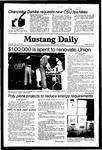 Mustang Daily, January 28, 1982