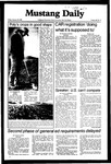 Mustang Daily, January 29, 1982