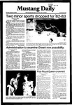 Mustang Daily, February 25, 1982