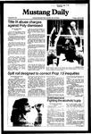 Mustang Daily, April 13, 1982