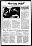 Mustang Daily, April 14, 1982