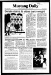 Mustang Daily, April 16, 1982