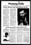 Mustang Daily, May 18, 1982