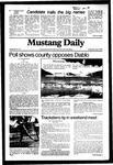 Mustang Daily, June 2, 1982