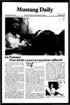 Mustang Daily, September 28, 1982