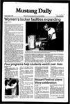Mustang Daily, October 1, 1982