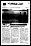 Mustang Daily, October 25, 1982