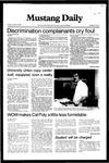 Mustang Daily, October 29, 1982