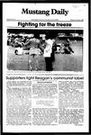 Mustang Daily, November 1, 1982