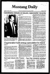 Mustang Daily, November 2, 1982