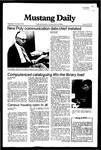 Mustang Daily, November 3, 1982