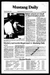 Mustang Daily, November 4, 1982