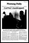 Mustang Daily, November 8, 1982
