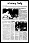 Mustang Daily, November 9, 1982