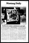 Mustang Daily, November 15, 1982